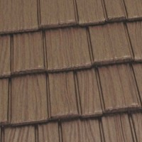 Country Manor Shake Metal Roof - Aged Bronze