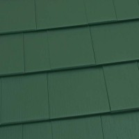 Oxford Shingle Metal Roof - Forest Green