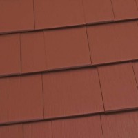 Oxford Shingle Metal Roof - Terra Red