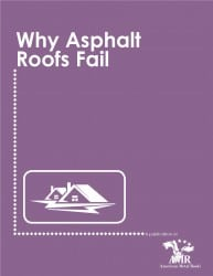 Why Asphalt Roofs Fail