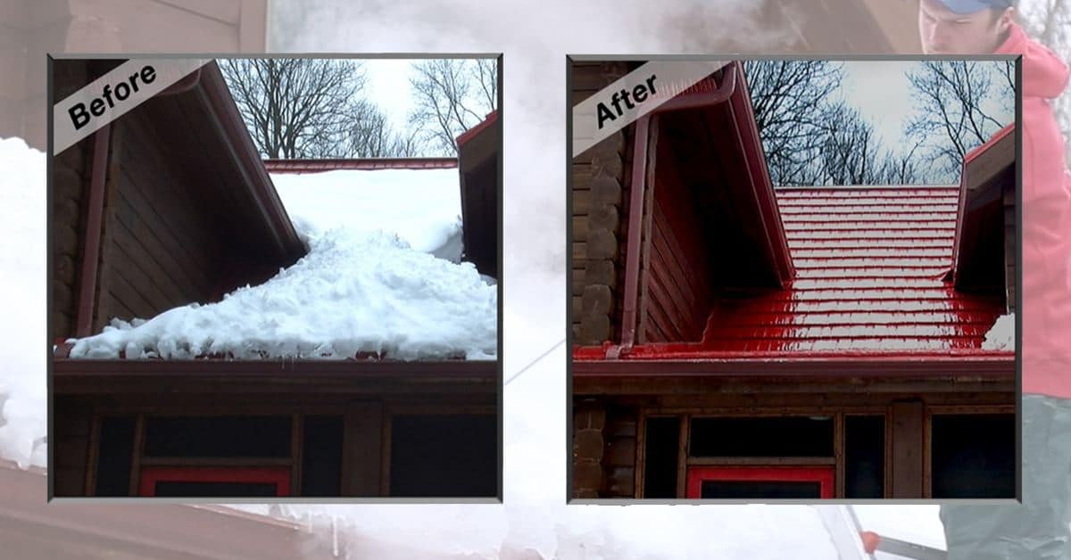 Michigan Snow Ice Dam Removal Services Roof Ice Removal