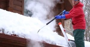ice removal in action