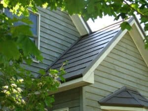 American Metal Roof on new home construction
